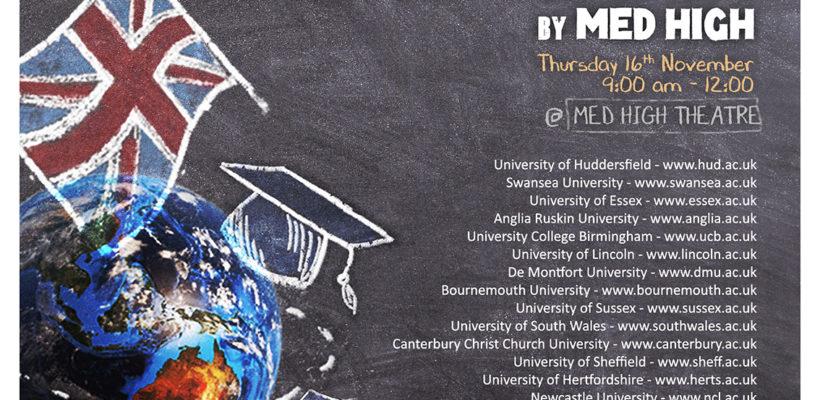 UK University Exhibition at Med High