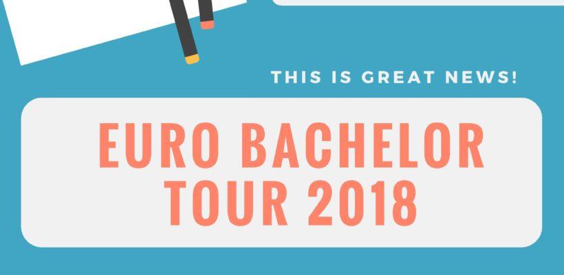 The Euro Bachelor Tour( Cancelled)