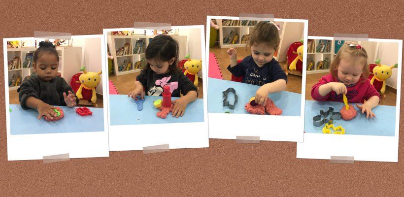 Pre-School – Nursery: Playdough time