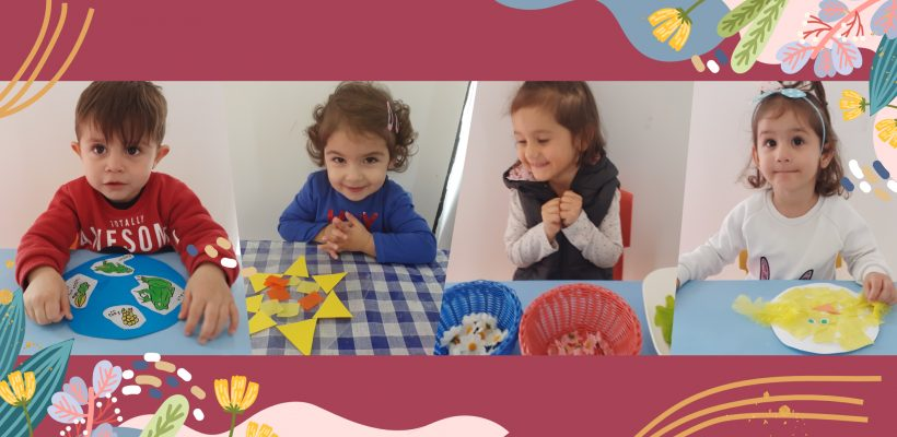 Pre-School – Nursery: Photos from our 'Busy Bees' class : 'Spring is in the air'