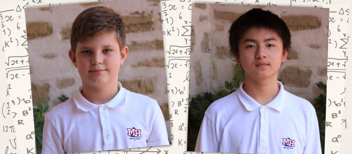 We would like to congratulate our students, Roman Gryshko from Grade 4 and Xie Mengi Ci from Grade 6, for attaining bronze medals in the 2021 International Mathematics Kangourou Competition. We are very proud of you! Well done!