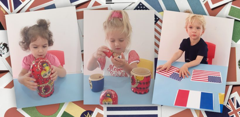 Pre-School – Nursery: The children have been learning about a different country every day for 2 weeks. Looking at traditions, flags, cultures, monuments, food and much more.