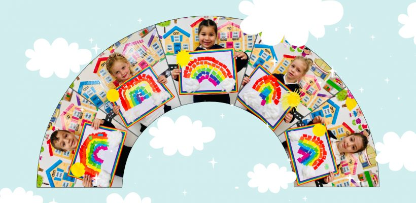 Pre-School: The Pre-Primary A class is learning about rainbows!