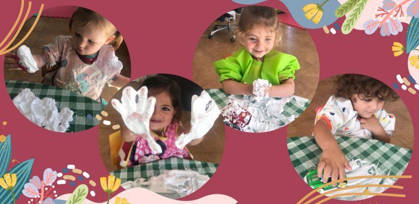 Pre-School: Butterfly Class-Sensory Play