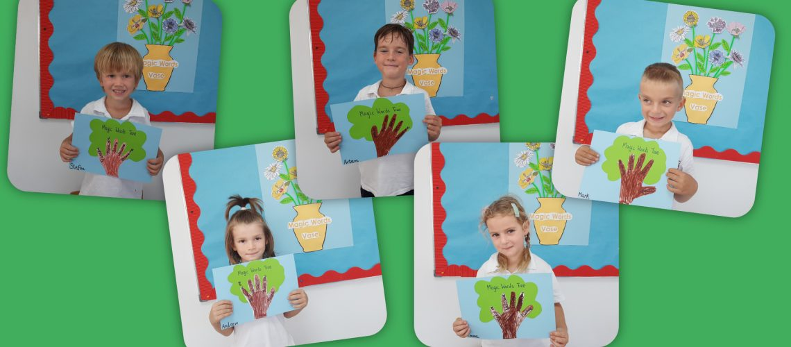 Pre-School: Learning all about manners and magic words in Pre Primary B! ✨